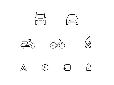 Stuart Icons line ios app system icon stuart