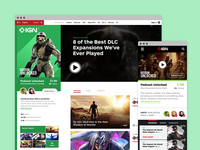 IGN Show Pages