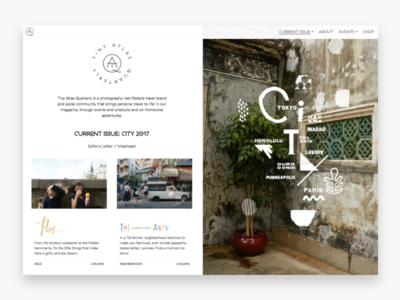 Tiny Atlas Quarterly Homepage