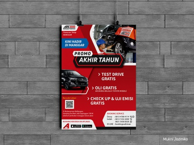 The End of Year Toyota Promo Poster pamphlet branding banner design advertising flyer poster design pamflet flyers brochure advertising design