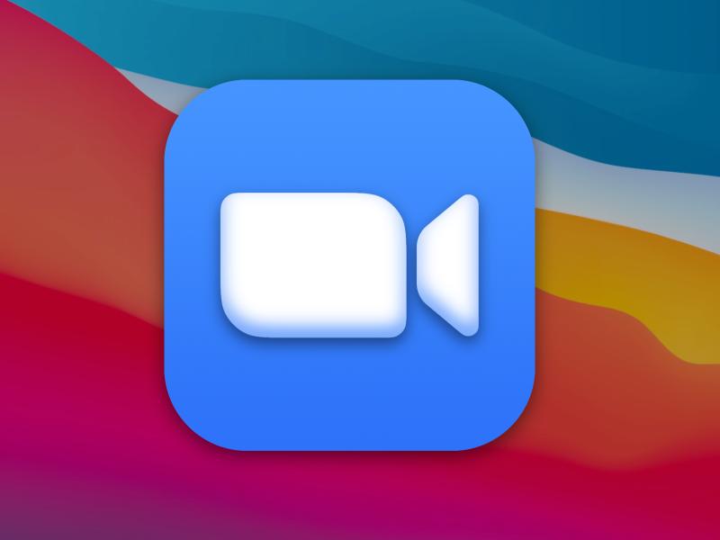 Zoom - MacOS Big Sur Icon zoom macos macos icon