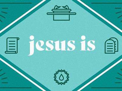 Jesus Is easter church jesus