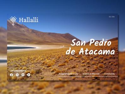Landing Page - San Pedro de Atacama