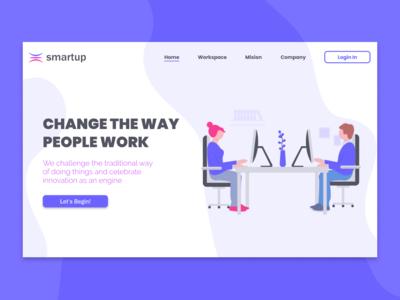 Smartup - Landing Page
