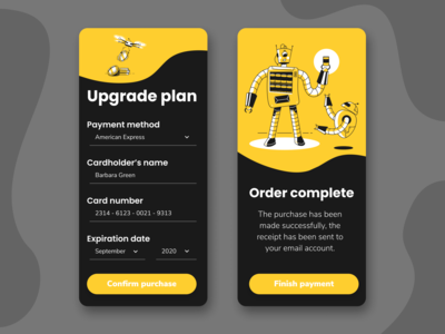 UI Challenge #002 - Credit Card Checkout