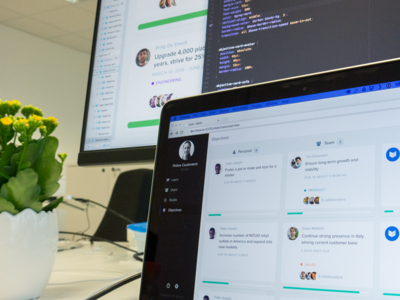 From design to code dashboard admin objectives saas talent