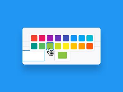 Color picker component colors web app app color scheme scheme picker color