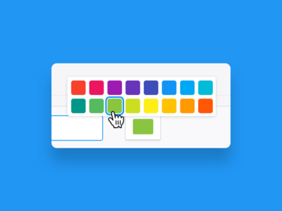 Color picker component colors web app app color scheme scheme picker color