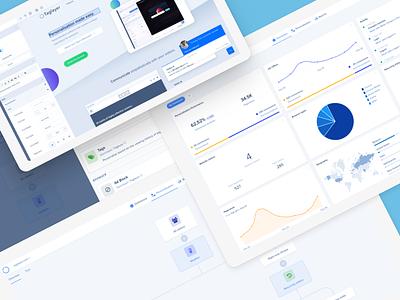 Taglayer - New Dashboard dashboard admin ui nodes node editor javascript