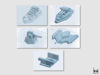 (1/3) Impresión 3D proceso / 3d print process