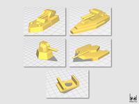 (2/3) Impresión 3D proceso / 3d print process