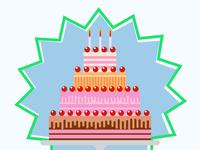 Torta de cumpleaños / Birthday cake