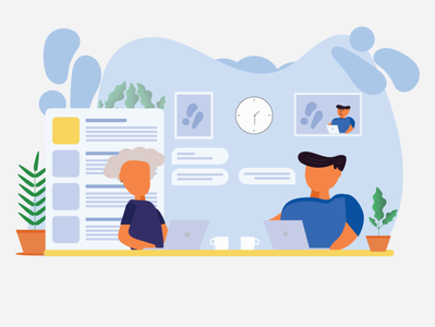 Team Work New illustration