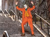 Joker Outline Illustration
