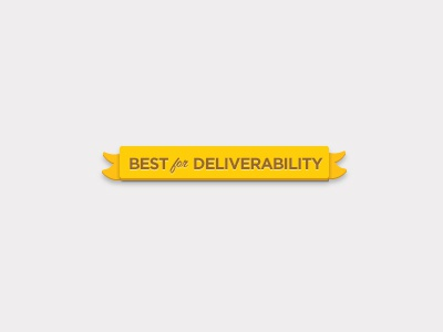 Best for deliverability