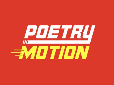 Poetry in Motion schwag shirt type typography bracket code poetry motion letter tee easter egg