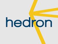 Hedron logo design