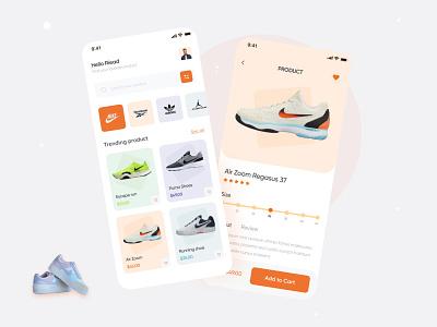 Shoe App app nike shoes nike ios ui shoes store ecommerce ecommerce app shoes app mobile ui app concept application app design mobile app popular trending shoe