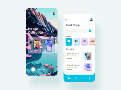 E commerce   Mobile App trending concept e-commerce mobile ui e-commerce shop e-commerce app ecommerce mobile app app design application app concept app