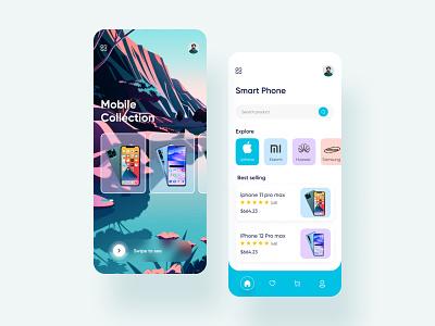 E commerce   Mobile App trending concept e-commerce mobile ui e-commerce shop e-commerce app ecommerce mobile app app design application app concept app