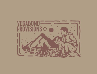Work Done for Clothing Line called Vegabond Provision
