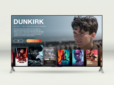 Daily UI: 025 TV App