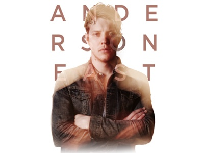 Anderson East photo tee band tees print design merch anderson east