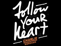 Charlie Worsham Custom Lyric Design