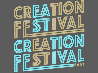 Creation Festival Type Design
