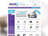 E-commerce project - Atom