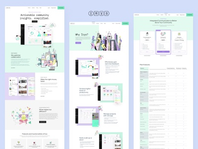 Irys Website Design website design pricing page colorful pricing design web design illustration website