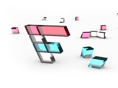 Factory Logo 3D 3d icon 3d logo identity branding factory logo 3d