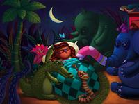 Illustration for children's story