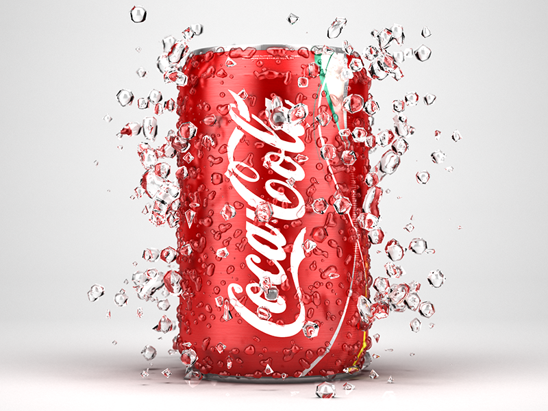 Coca Cola by Ron Heuse on Dribbble