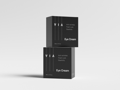 Branding and Packaging Design - Via skincare packaging design packaging design branding