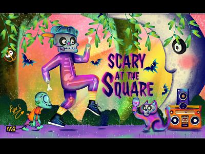 U.S Consulate Perth Scary At The Square Event 02