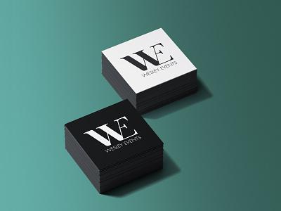 Wesley Events Brand Creation logo design monochrome events perth graphic design design vector logo branding brand identity