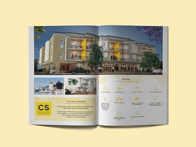 Cedar Sun Brochure perth brand identity branding design icon set graphic design real estate property marketing brochure design brochure