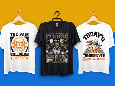 I will do fitness gym crossfit t shirt design brand modern logo design branding minimalist logo logo design professional brand identity graphic design tshirt design tshirtdesign