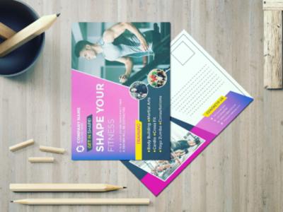 Postcard, Flyer and poster Design