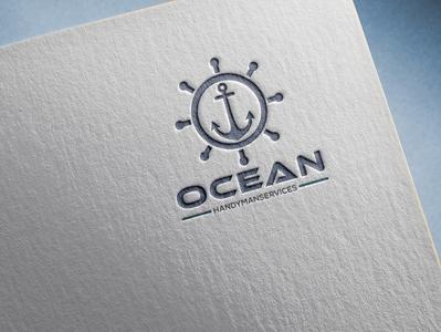 OCEAN HANDYMAN SERVICE Logo
