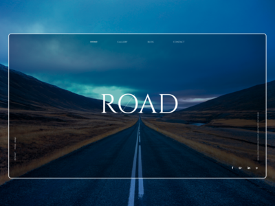 Road - Web concept