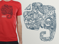 Evernote Food Shirt