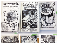 Evernote moleskine illustrations