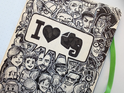 Evernote Moleskine Art for EC3
