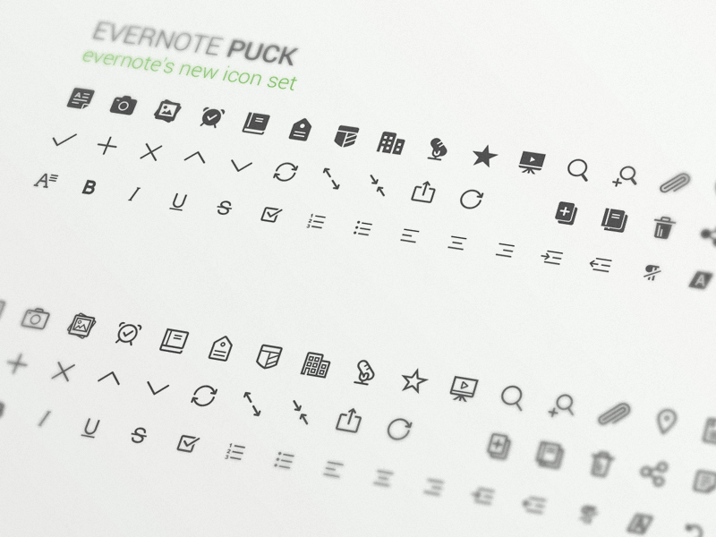 Evernote Puck By Carlos Rocafort Iv Dribbble