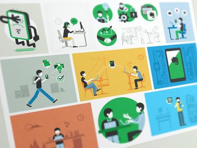 Communication Illustrations 3
