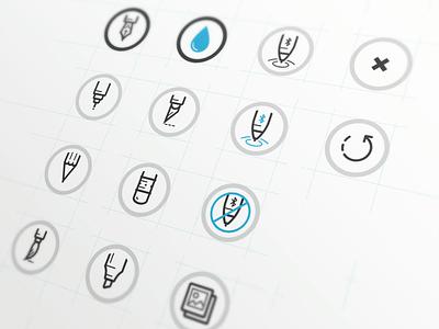 Penultimate tool icons