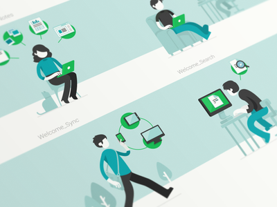 Comunication Illustration communication illustration evernote