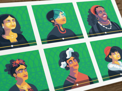 Women's Day week day women poster illustration evernote